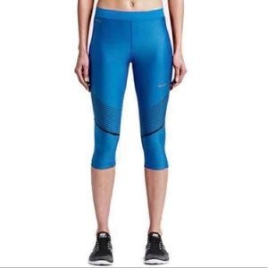4eb8c3c4e3ab33 Nike Pants | Drifit Power Speed Running Capri | Poshmark